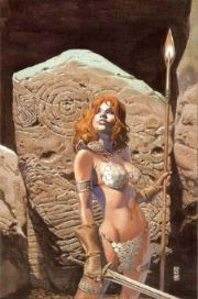 Red Sonja #14 J.G. Jones Virgin Variant